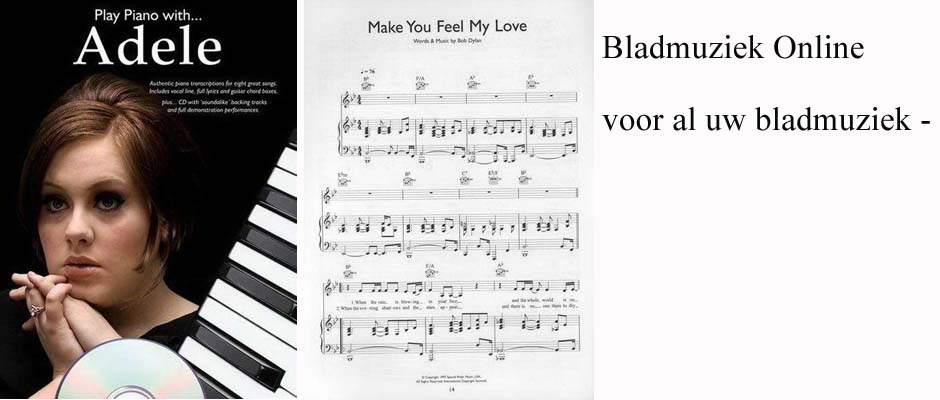 Bladmuziek online for Strumento online gratuito piano piano