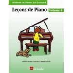 Le‡ons de piano, volume 4