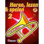 Horen lezen & spelen 2 trombone bc Jaap-Kastelein