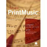 Finale printmusic voor Mac - Nederland