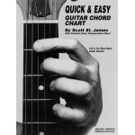 Quick and easy guitar chord chart Scott-St.-James