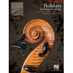 Holidays for piano and strings - cello