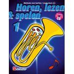 Horen lezen & spelen 1 bariton / euphonium tc Jaap-Kastelein
