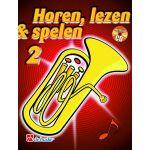 Horen lezen & spelen 2 bariton / euphonium tc Jaap-Kastelein