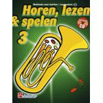 Horen lezen & spelen 3 bariton / euphonium tc Jaap-Kastelein