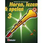 Horen lezen & spelen 3 sopraansaxofoon Jaap-Kastelein