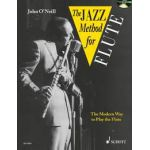 Jazz method for flute John-O'Neill