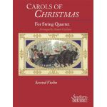 Carols of christmas for string quartet violin 2