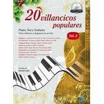 20 villancicos populares: piano, voz y guitarra 2