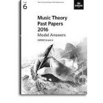 Music theory past papers 2016: grade 6