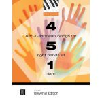 4 afro-caribbean songs for 5 right hands 1 piano