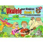 Ukulele voor kinderen boek 1 Peter-Gelling