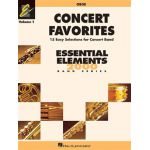 Concert favorites vol. 1 - oboe