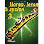 Horen lezen & spelen 3 dwarsfluit Jaap-Kastelein