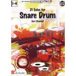21 solos for snare drum Gert-Bomhof