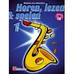 Horen lezen & spelen 1 altsaxofoon Jaap-Kastelein