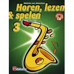 Horen lezen & spelen 3 altsaxofoon Jaap-Kastelein