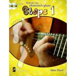 Steps 1 methode voor akoestisch gitaar Elwin-Morel