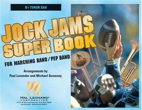 Jock jams super book - tenor saxophone